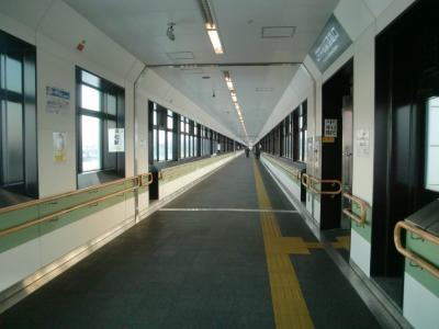長ーい通路 内部@JR平和駅