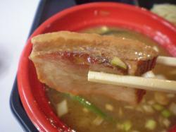 魚雷さんつけ麺 バラ肉叉焼@さっぽろ大つけ麺博
