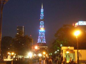 良い天気のテレビ塔@札幌