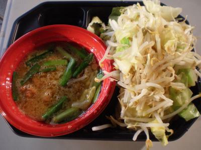 ブタキングさんつけ麺 野菜マシ@さっぽろ大つけ麺博