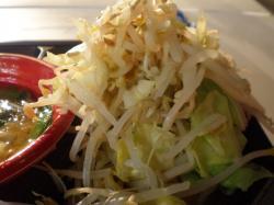 ブタキングさんつけ麺 野菜マシ野菜あっぷさっぽろ大つけ麺博