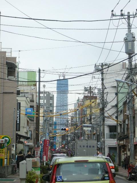 東京スカイツリー合羽橋