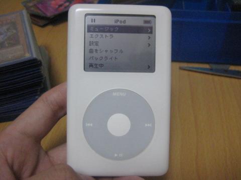 4代目iPod参る!!