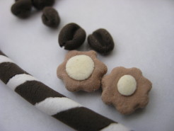 コーヒー豆とクッキー達