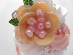 スパンコールのお花