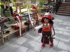 岩崎城にて