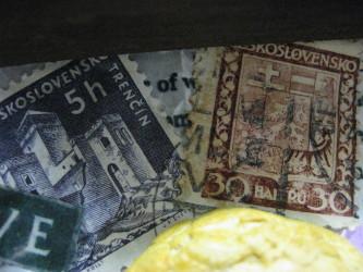 アンティークな切手