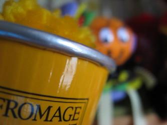 かぼちゃアイス♪