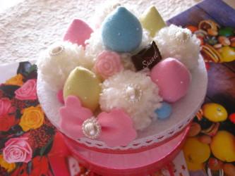ぽんぽんケーキ♪