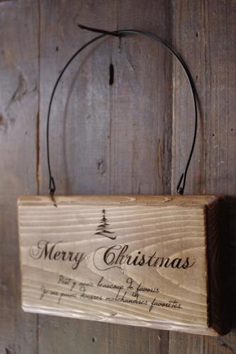 アンティーク風クリスマスプレート*ツリー