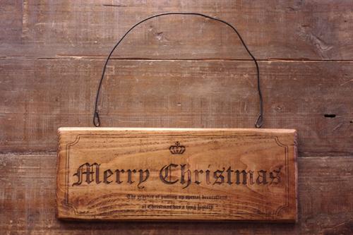 アンティーク風クリスマスプレート*クラウン