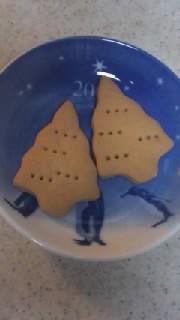 ツリー型クッキー
