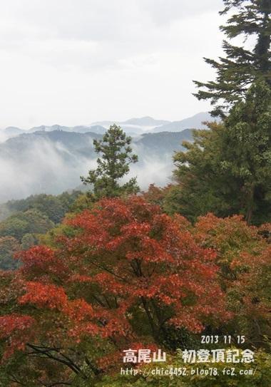 雨降り高尾山