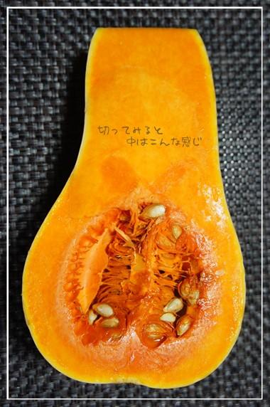 ホントにかぼちゃだね