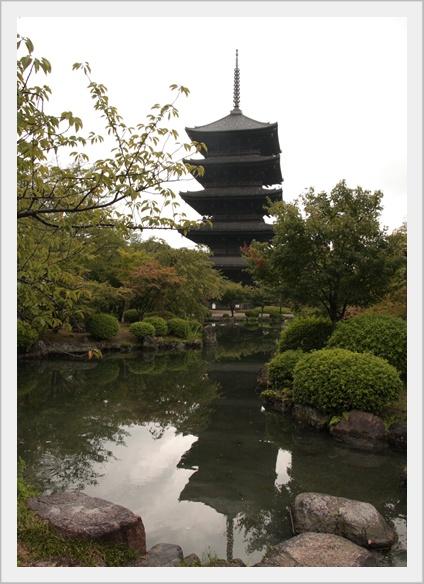 東寺 五重の塔