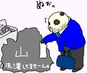 すっげ~洗濯物!