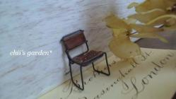 miniature school chair-2a