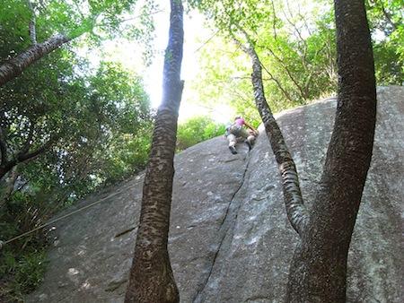 「大師匠のルート」を登る