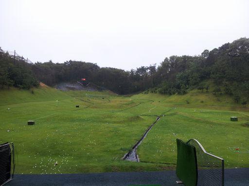 ゴルフ練習場20130915