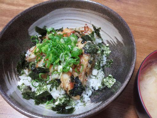 タチウオの蒲焼丼20131001