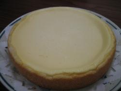 手作りチーズケーキのおみやげです\(^O^)/