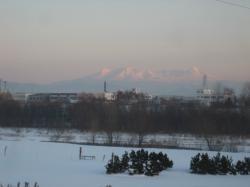 すっかり雪景色の大雪山