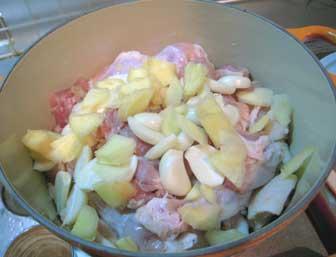 鶏甘辛煮1