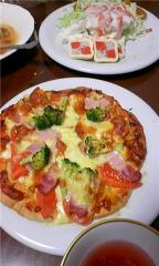 20091224ピザ