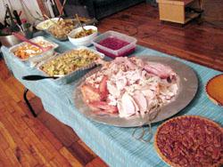 Thanksgiving食卓