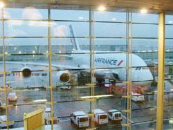 フランス到着