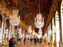ヴェルサイユ宮殿内