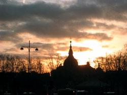 ヴェルサイユ宮殿夜景
