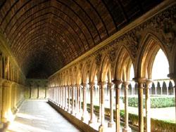 モン・サン・ミッシェル修道院中の様子
