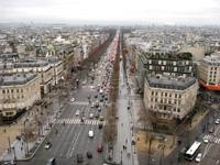 パリ市街を眺める事が出来ます