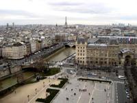 パリの街を一望出来ました