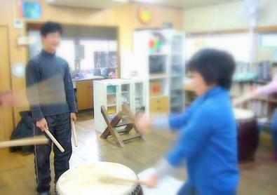 和太鼓の練習