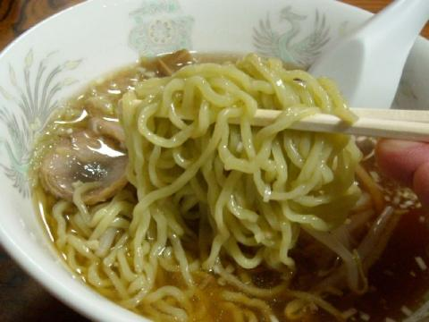 音羽屋・ラーメン 麺