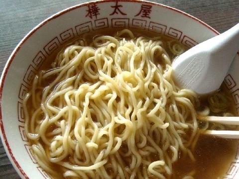 樺太屋・中華そば 麺