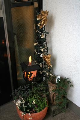 2011クリスマス玄関2