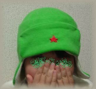 ケロロ帽子1