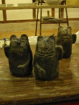 橋本緑 インカ招き猫