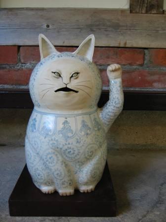 岡山・特大招き猫
