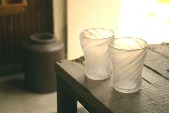 深谷仁美アイスコーヒーグラス