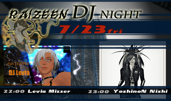 RAIZEEN DJ NIGHT
