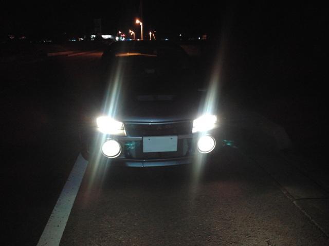 3月25日 CN9A ライト点灯