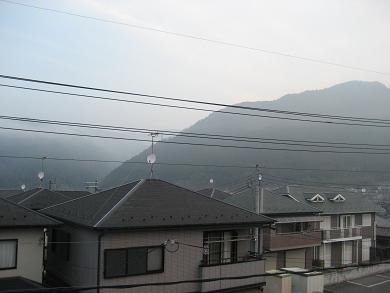 霧がでました♪