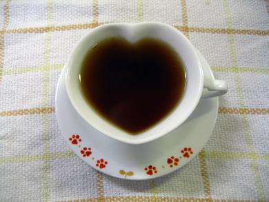 ハートカップinお紅茶