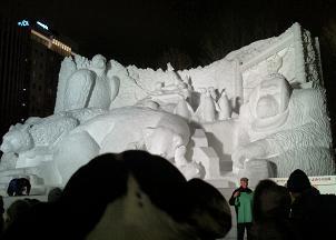 雪祭り夜3
