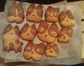 クッキー焼き後