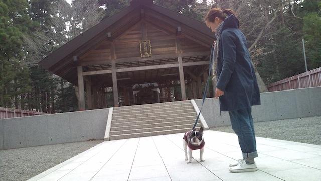 円山神社参拝